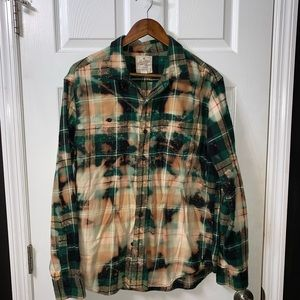 Large American Eagle Flannel